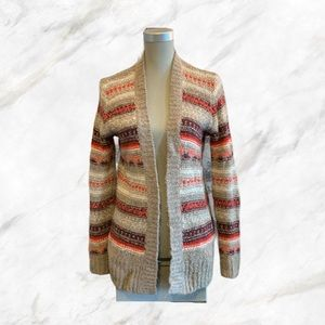 Hollister | Colourful Knit Sweater Cardigan